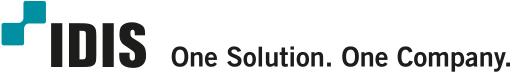 IDIS  One Solution. One Company. Logo