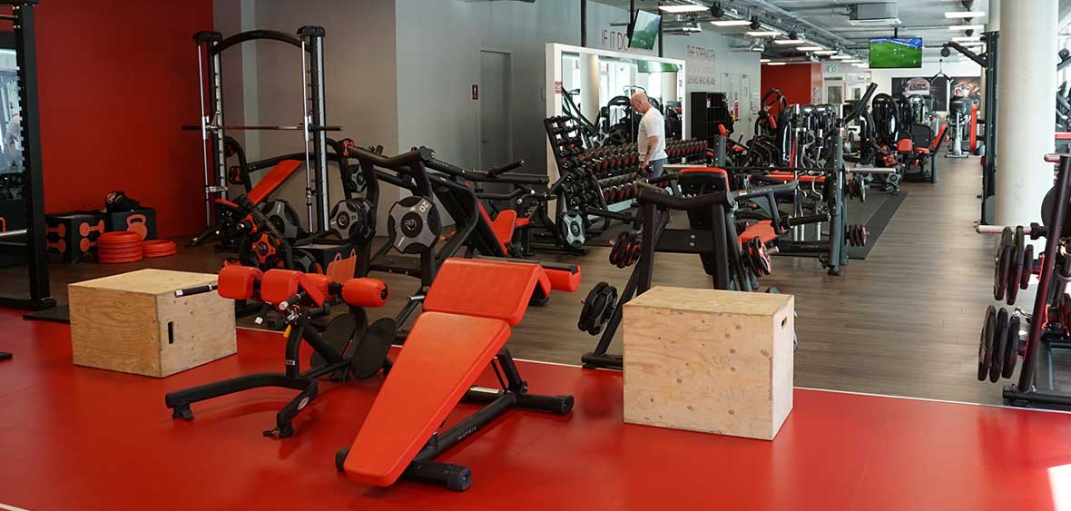 Interieur Snap Fitness Breda