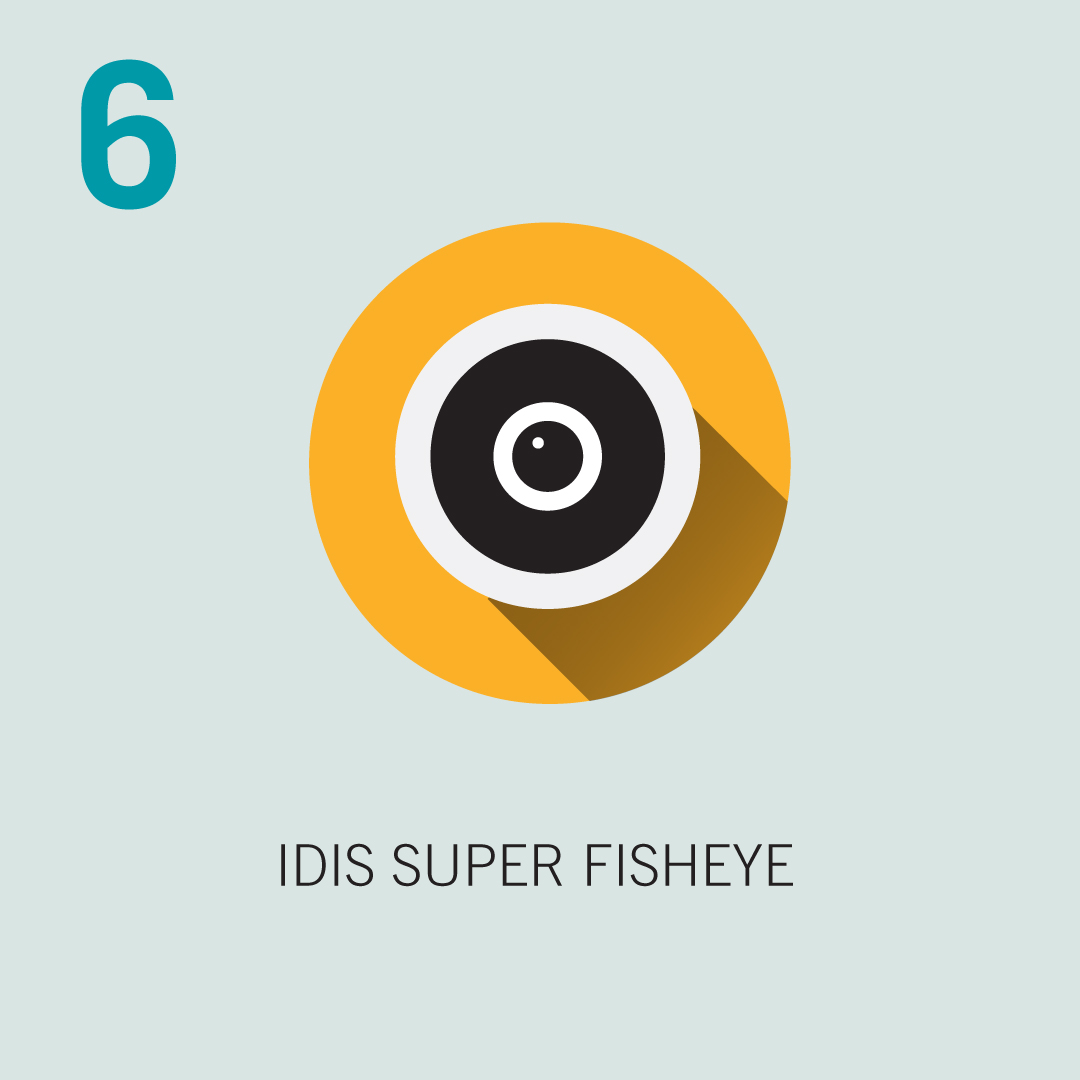 6: IDIS Super Fisheye