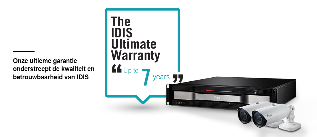 IDIS Ultimate Warranty