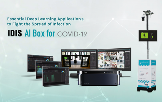 AI Box for Covid en Camera Secured Site